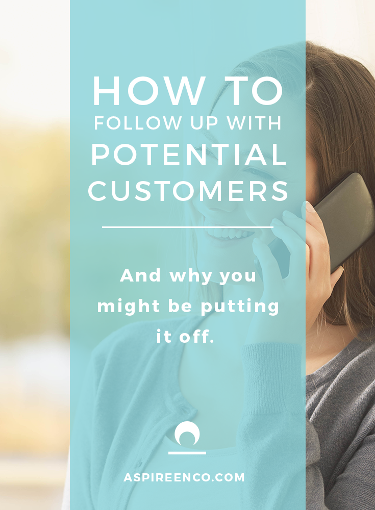 Article Cover Image: How to follow up with potential customers and why you might be putting it off.