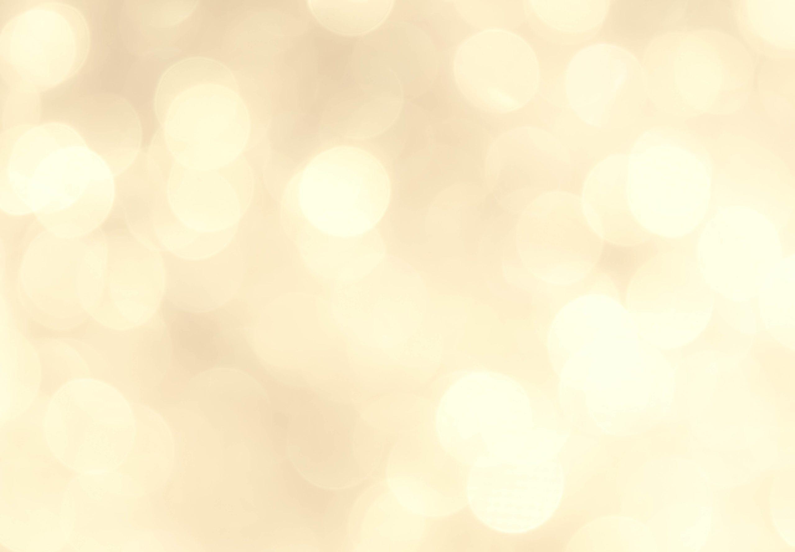 Gold bokah lighting