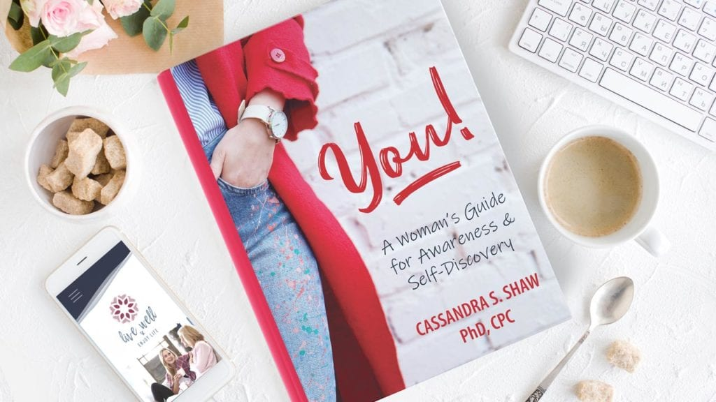 You! A Woman's Guide Book Cover Design
